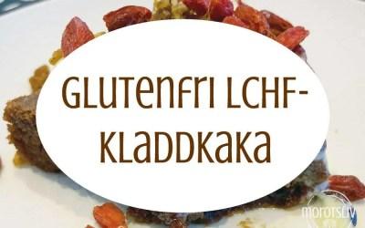 Gudomligt god, glutenfri, LCHF-kladdkaka