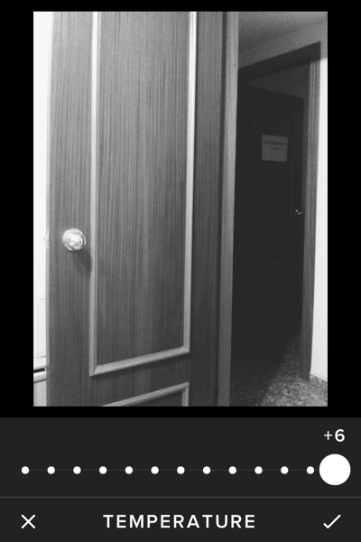 Door - New VSCO Cam - Max temperature