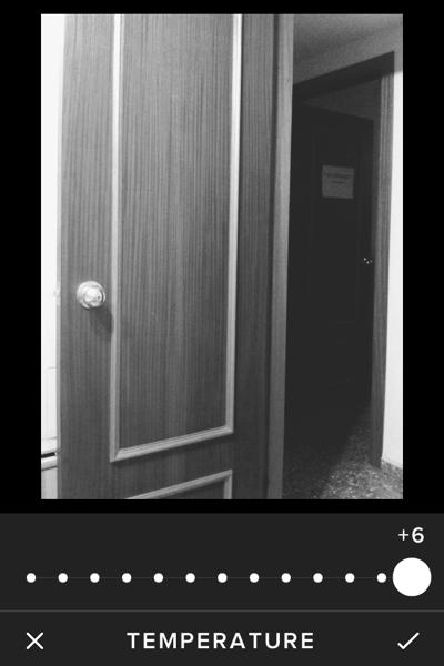 Door - New VSCO Cam - Max temperature