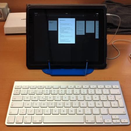 iPad as lightweight laptop