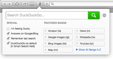 DuckDuckGo ext