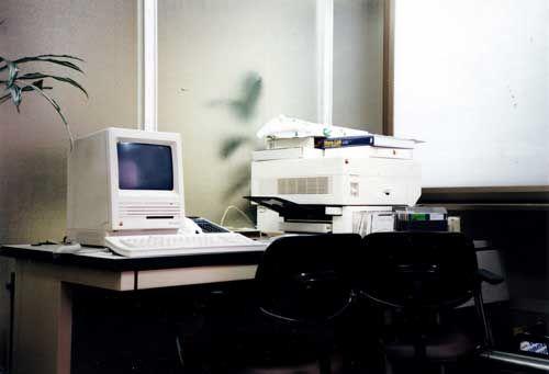 Macintosh SE + LaserWriter