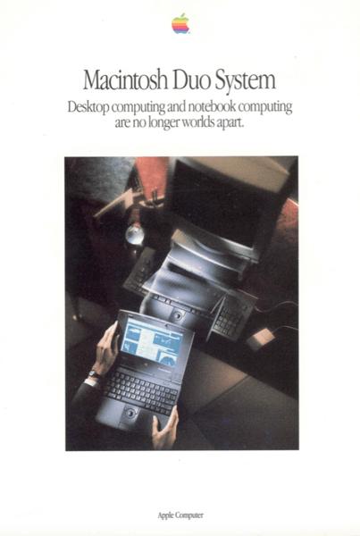 Macintosh Duo System