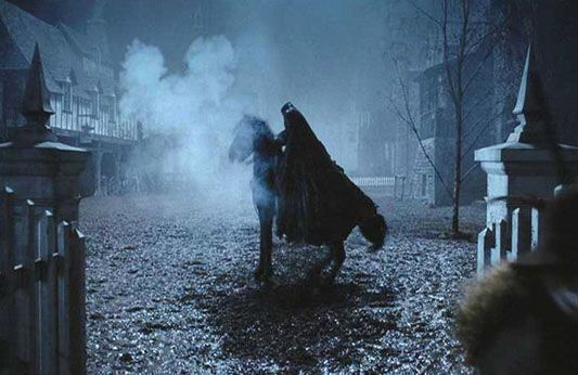 Headless Horseman from Tim Burton's SLEEPY HOLLOW