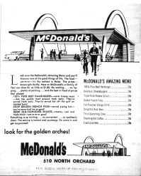 Idaho State Historical Society - McDonald's Ad Boise Journal August 10, 1961 p.5