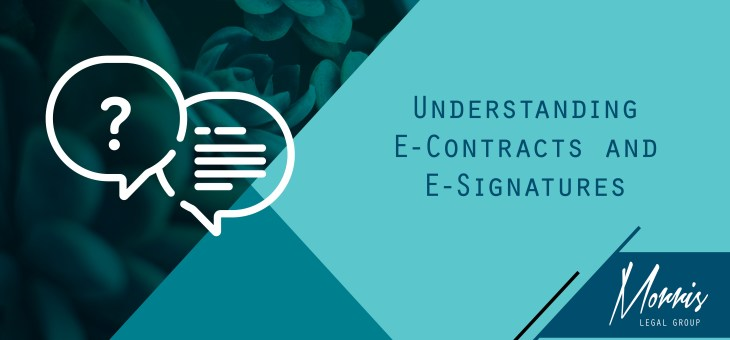 COVID-19 Series: e-Contracts and e-Signing
