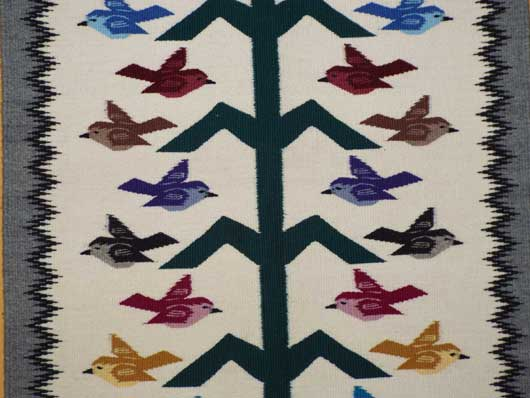 Navajo Tree of Life Pictorial Weaving #33 - Morrison Navajo Rugs