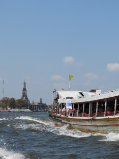 Wat Arun from the Chao Phraya River, Bangkok