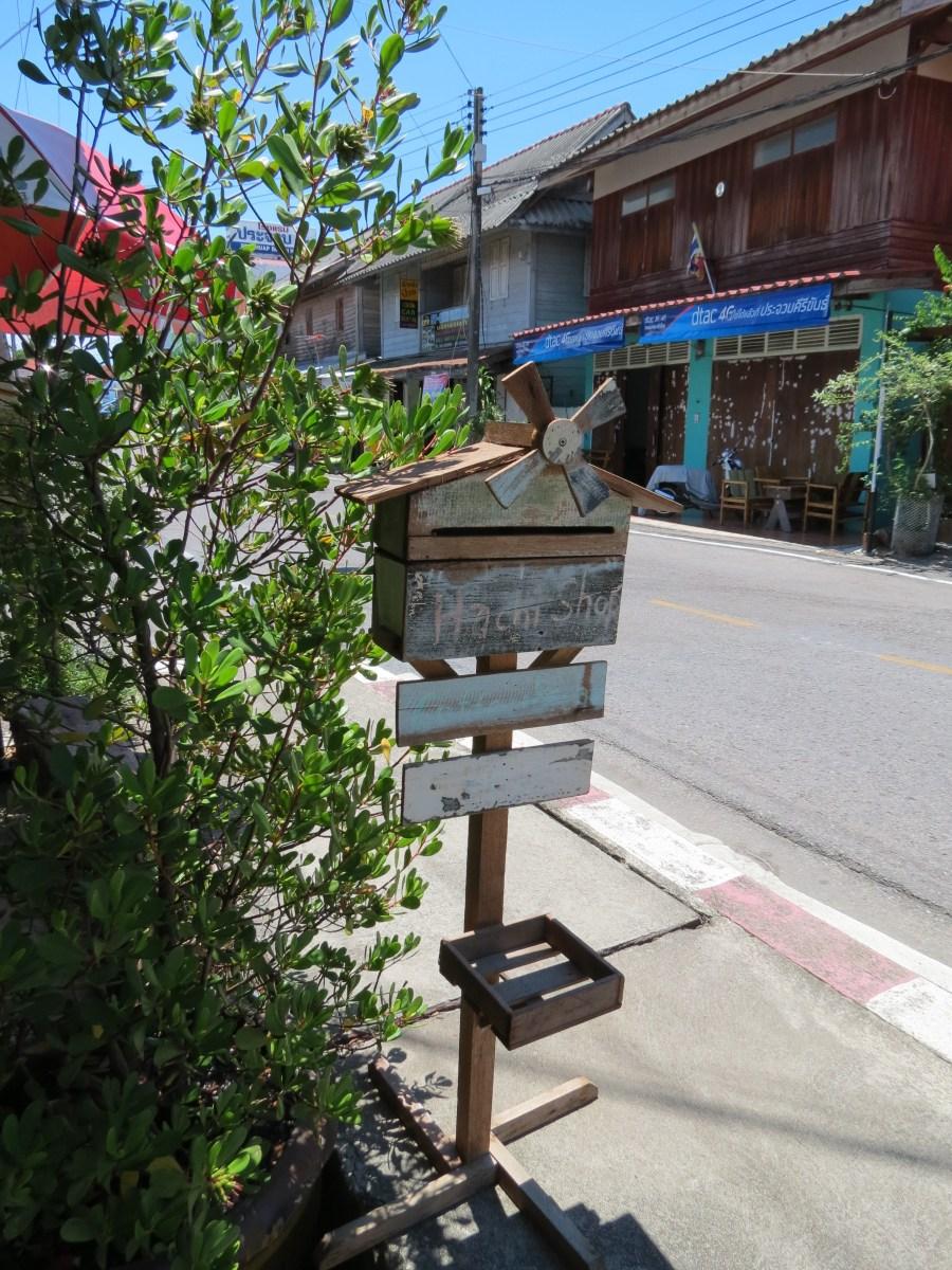 Letter box, Prachuap Khiri Khan, Thailand