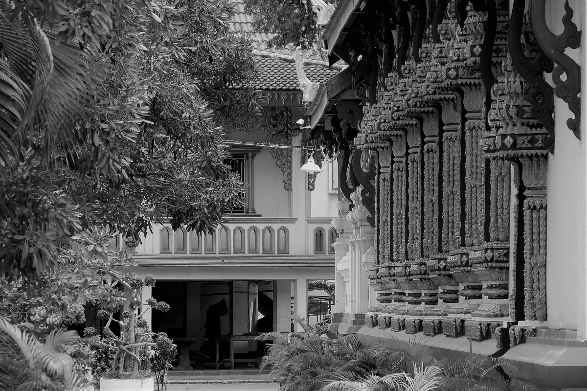 Black & White Images from Vientiane, Laos
