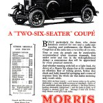 1928 Morris Coupe advert