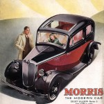 Morris Eight advert