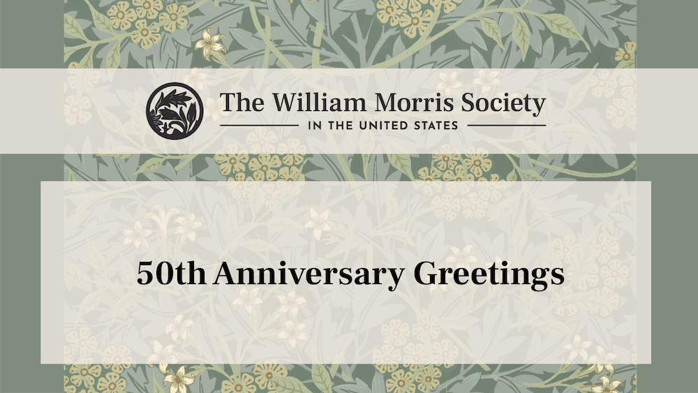 50th Anniversary Greetings from Around the World