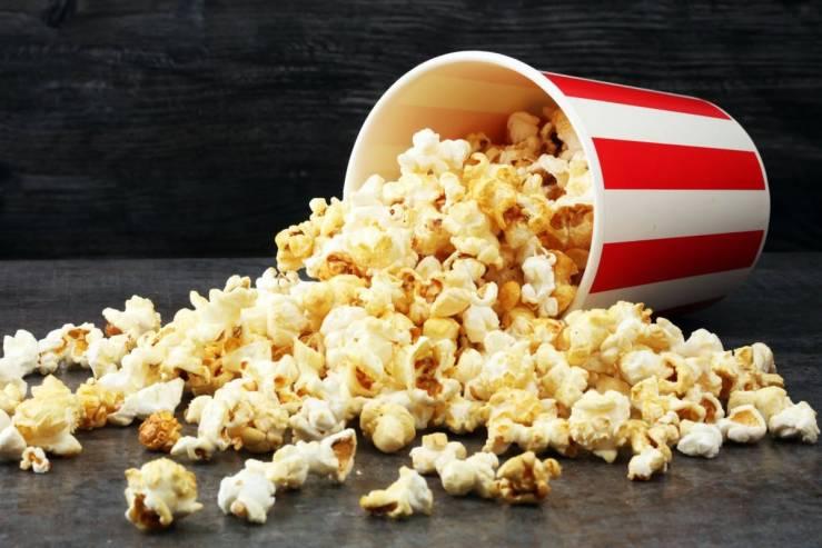 tub of popcorn
