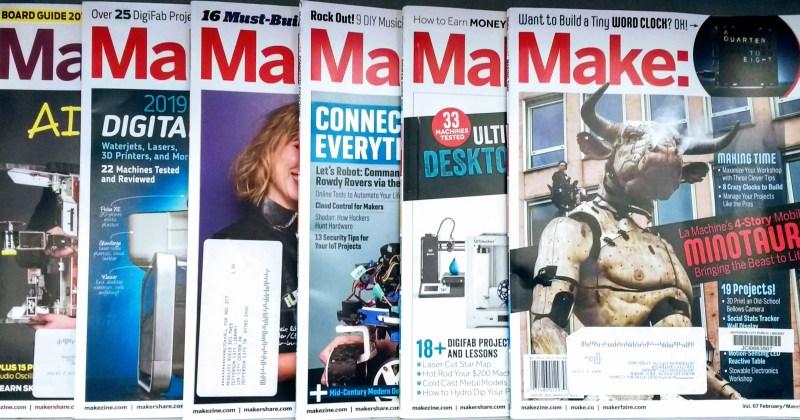 Make: Magazine at Jefferson City Public Library