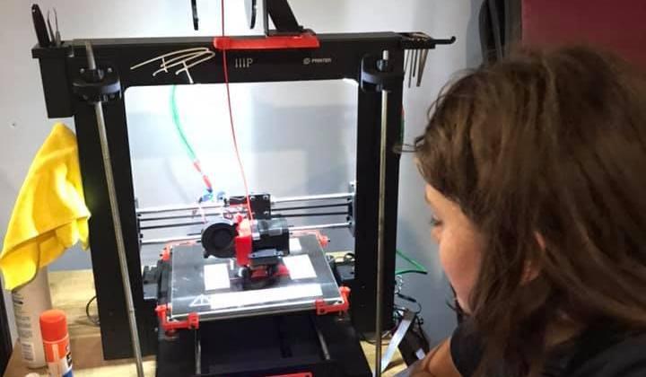 3D Printing Class: Preparing the Machine