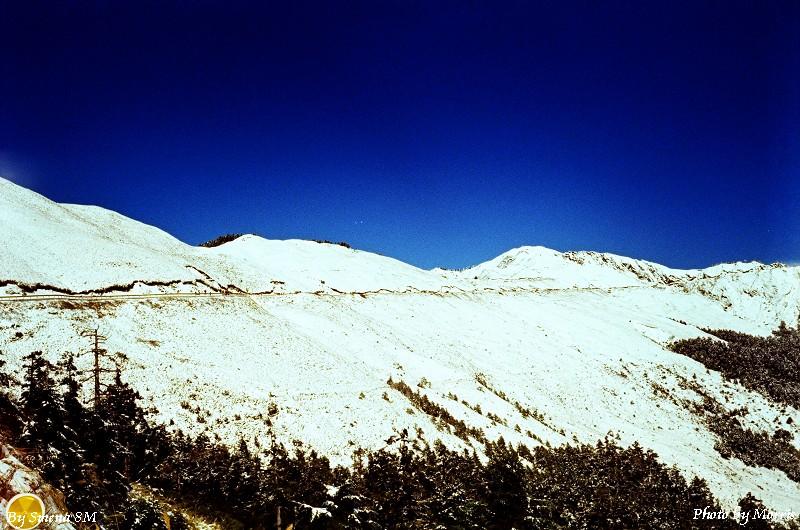 合歡山冬雪 (1)