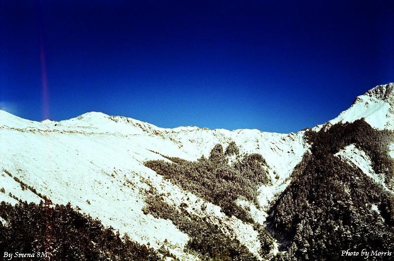 合歡山冬雪