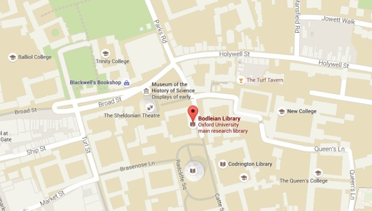bodleian map