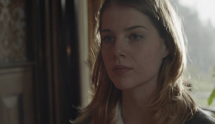 Lucy Boynton as Petra Briers in Endeavour, 'Nocturne'.