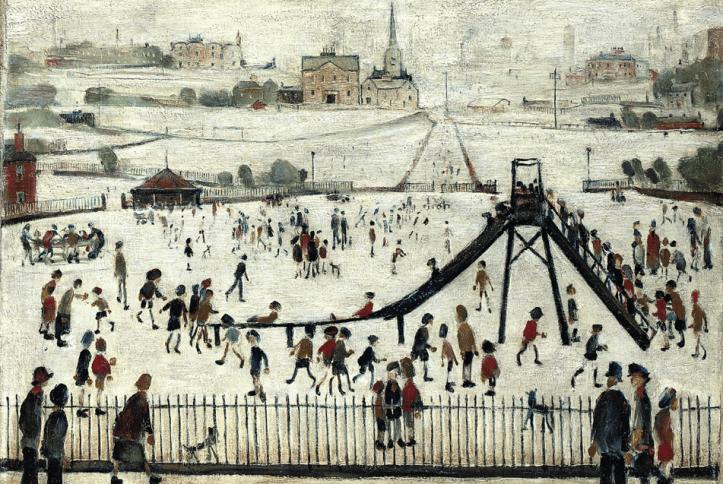 ls-lowry-the-playground-1945