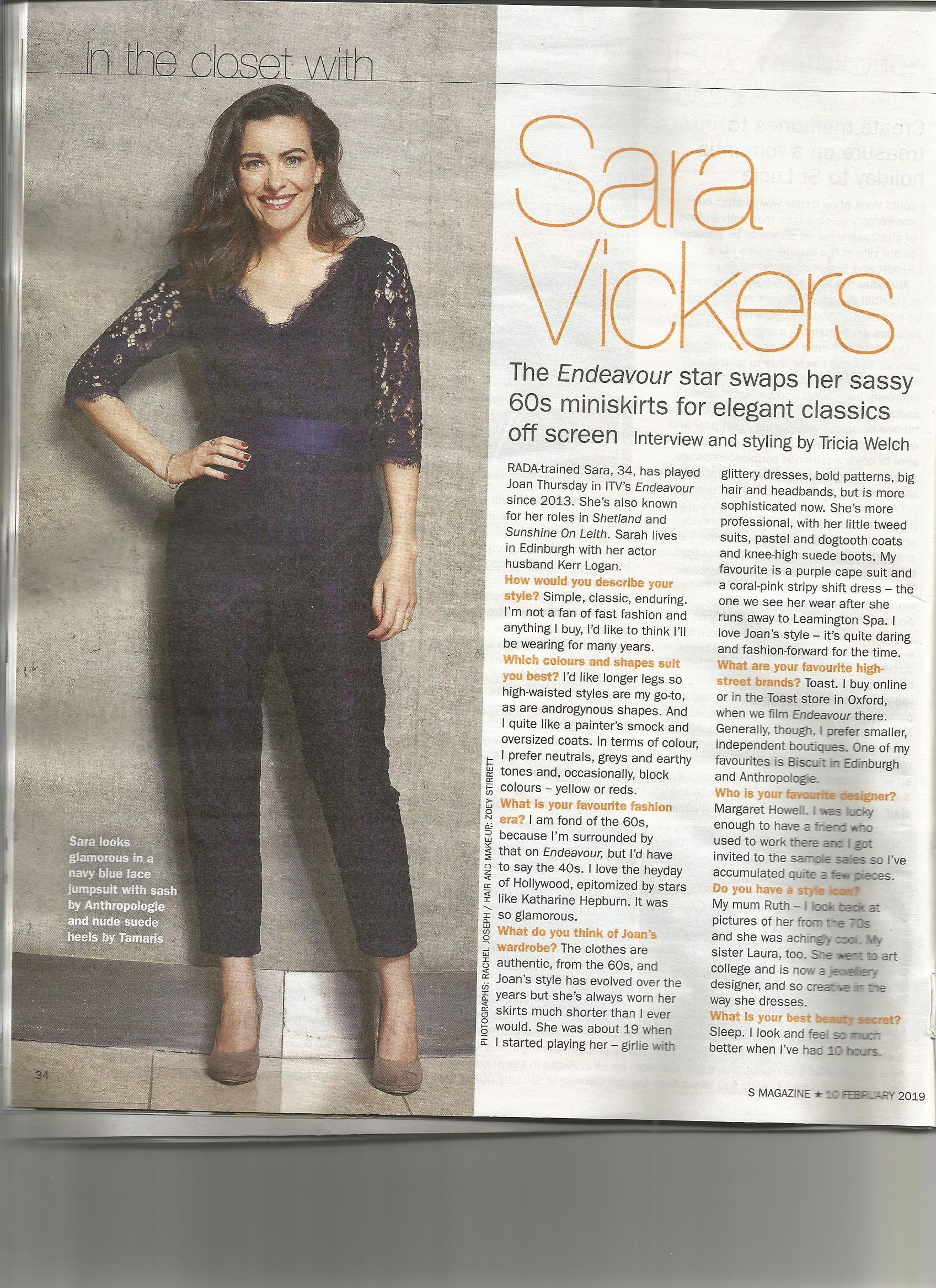 Sara Vickers instagram