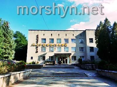 Моршинский ,əsas bina