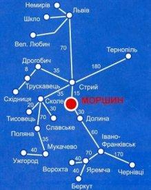 Morșîn-map