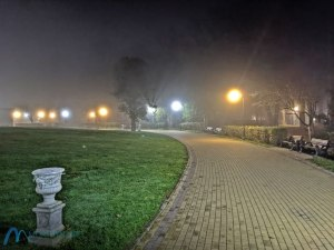 Фонари в тумане