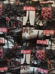 Parijs katoen, stof, decoratie (rugpand)
