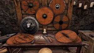 Shield Crafting Table in Mortal Online 2