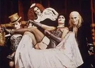 Lead characters in the Rocky Horror Picture Show