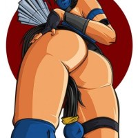 Take a closer look at Kitana's awesome butt!