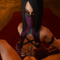 Witness Mileena having romp... and she is having it a bunch!