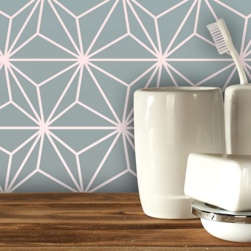 Austaar Feature Tile - 2017 geometric design available in th UK at forthefloorandmore.com