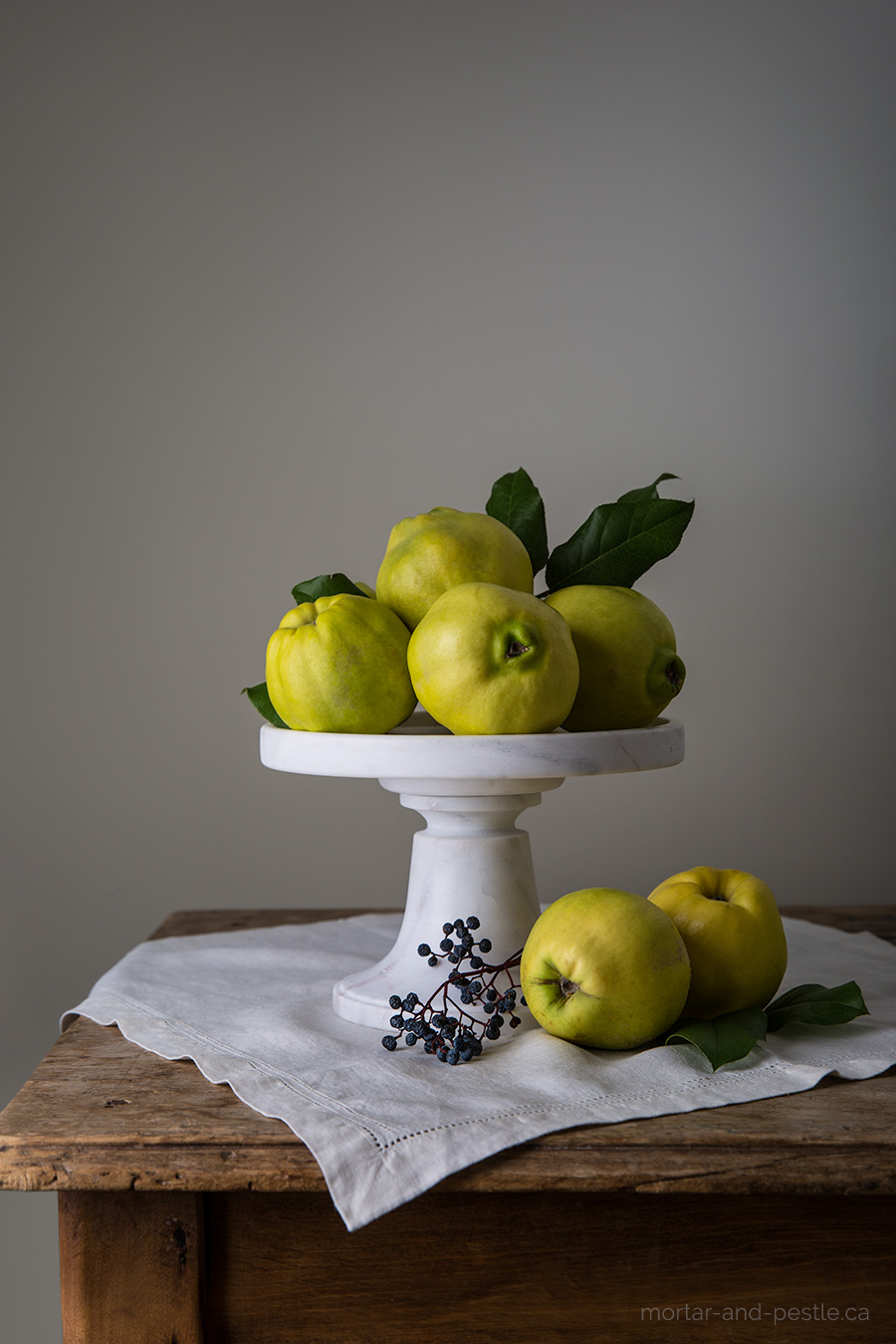 Quince paste : mortar-and-pestle.ca