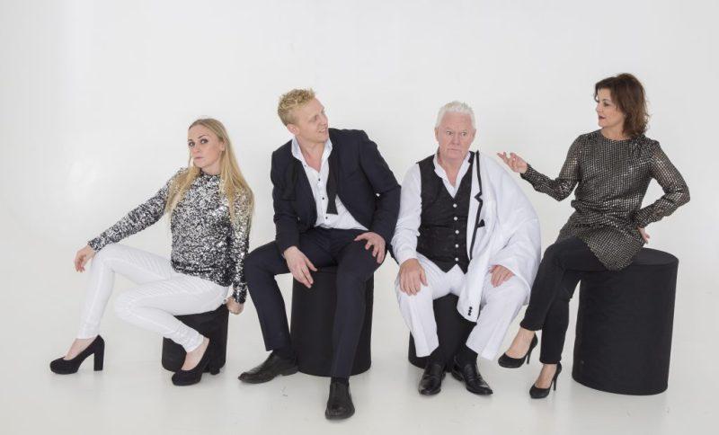 Christine Astrid Nielsen, Pelle Emil Hebsgaard, Jan Schou og Ann Hjort Foto: Pressebillede