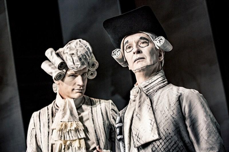 Andreas Jebro og Lars Brygmann - Erasmus Montanus (Aarhus Teater 2017)