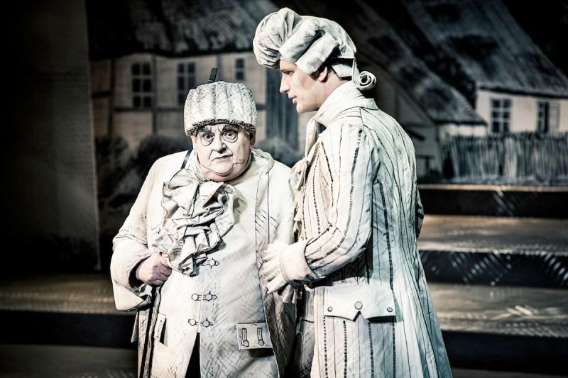 Ole Thestrup og Andreas Jebro - Erasmus Montanus (Aarhus Teater 2017)