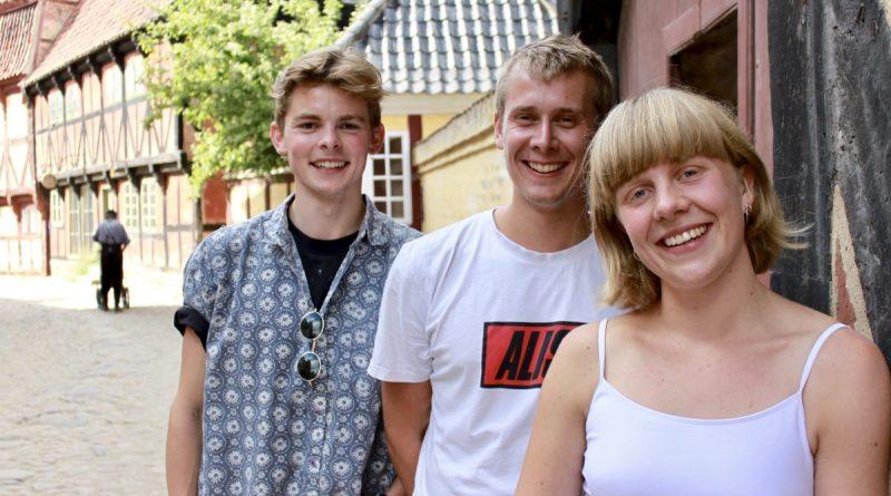 Teatret Skærsommer - Lasse Steen Jensen, Mathias Bøgelund og Josephine Reumert Grau