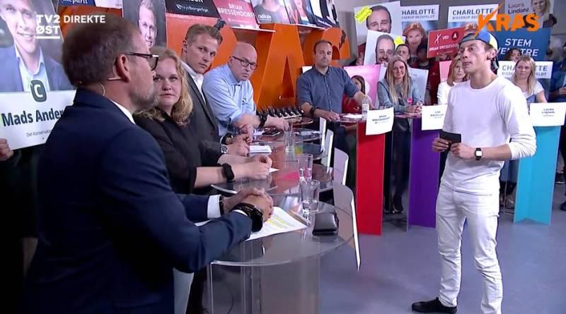 Støddebat på TV2 Øst - KRAS