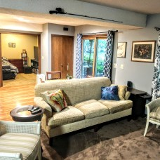 Mother-in-law suite in lower level
