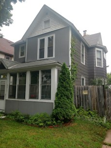right side of front house
