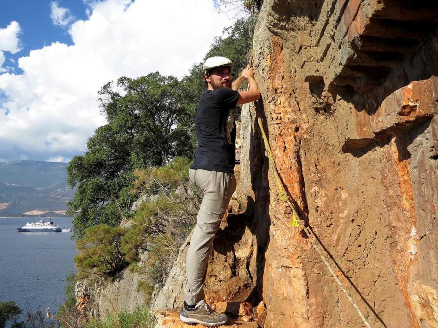 klettern am Felsengrab