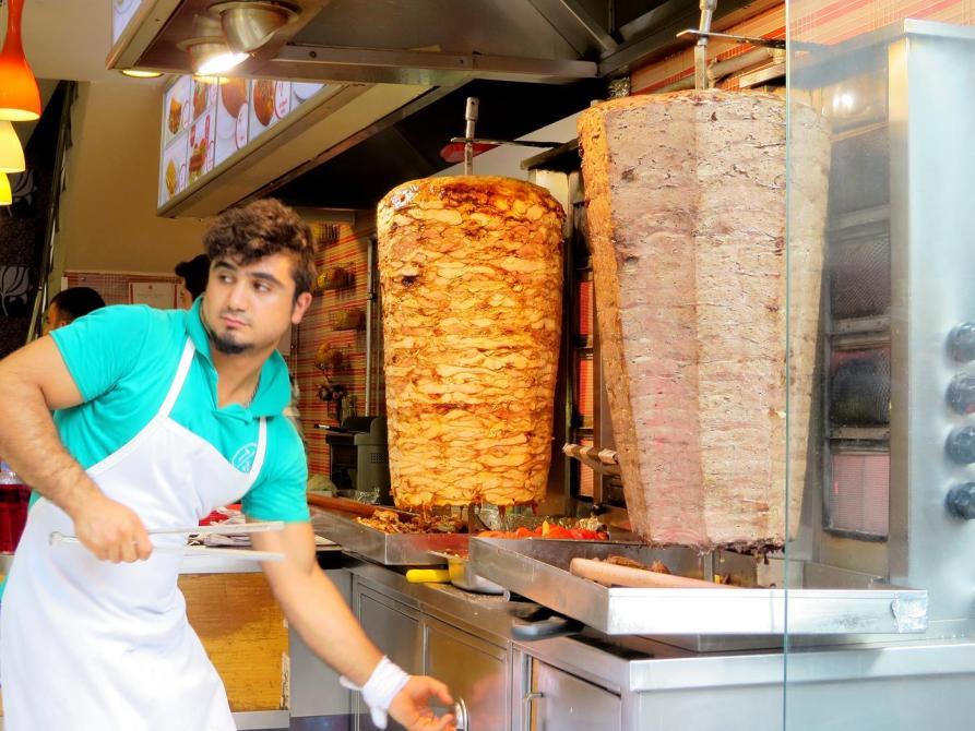 Dönerrestaurant in Istanbul