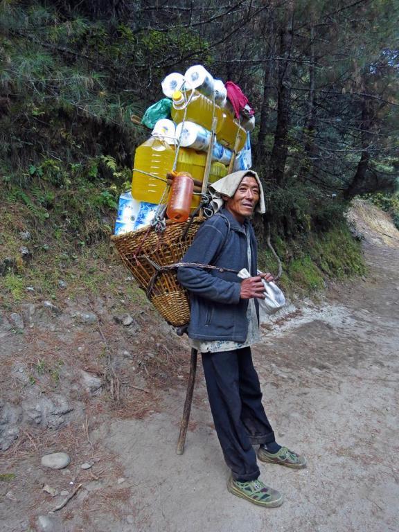 Träger, Everest Base Camp Trek
