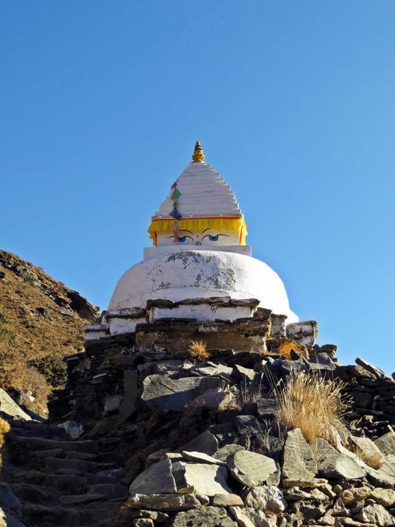 Stupa in der Everestregion