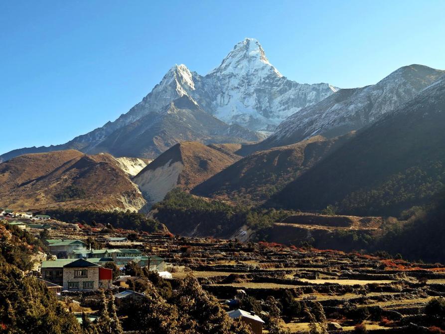 Pangboche, Ama Dablam, Himalaja