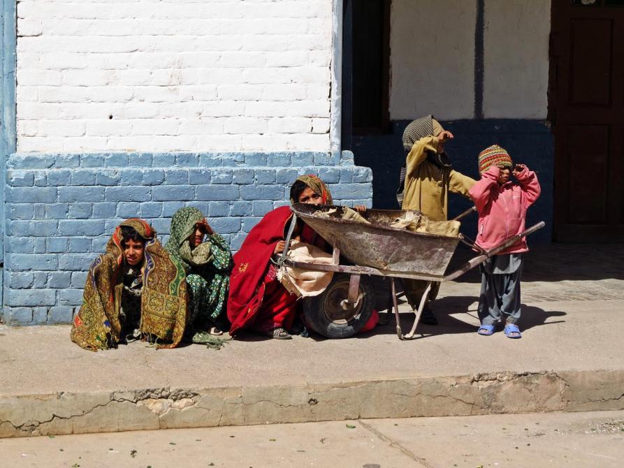 Kinder in Beluchistan, Pakistan
