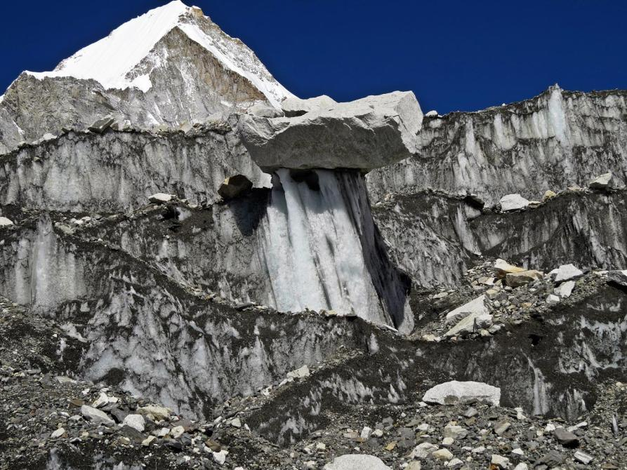 Gletscherformation, Himalaja